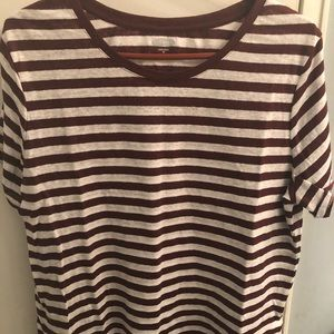 Old Navy Striped Boxy Tee